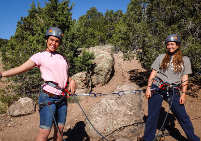 Rock Climb Girls team up
